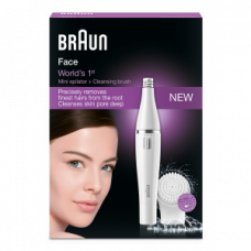Deals, Discounts & Offers on Personal Care Appliances - Flat 20% off on Braun 810 Face Mini Epilator + Cleansing Brush