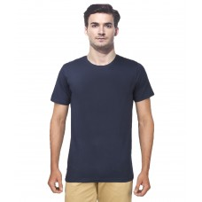 Deals, Discounts & Offers on Men Clothing - Gallop Blue Cotton T-shirt