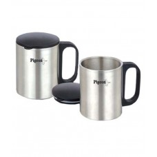 Deals, Discounts & Offers on Home Improvement - Pigeon Stainless Steel 150ml Coffee Mug