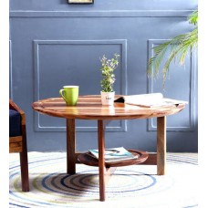 Deals, Discounts & Offers on Home Improvement - Detroit Round Coffee Table In Natural Finish