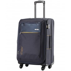 Deals, Discounts & Offers on Accessories - VIP Blue 4 Wheel Soft Trolley