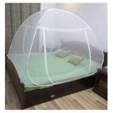 Deals, Discounts & Offers on Home Decor & Festive Needs - Healthgenie White Double Bed Mosquito Net