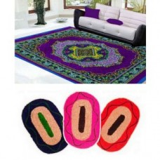 Deals, Discounts & Offers on Home Decor & Festive Needs - HandloomTrendz Polyester Quilted Carpet