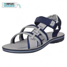 Deals, Discounts & Offers on Foot Wear - V-TREE Men's Grey and Blue Velcro Floaters
