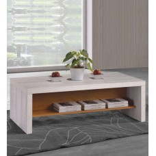 Deals, Discounts & Offers on Home Decor & Festive Needs - Ayame Coffee Table In White Oak Finish