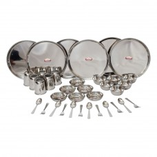 Deals, Discounts & Offers on Home Appliances - Flat 43% off on Shubham Stainless Steel Dinner Set 36 Pcs Gift Set