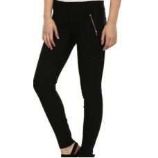 Deals, Discounts & Offers on Women Clothing - TouchMe Women's Black Jeggings
