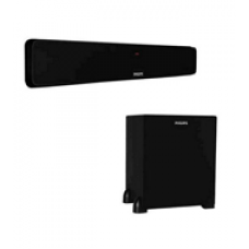 Deals, Discounts & Offers on Home Improvement - Philips DSP470U Bluetooth Soundbar with Wired Subwoofer