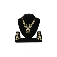 Deals, Discounts & Offers on Earings and Necklace - Sia Art Jewellery Gold Alloy Necklace Set