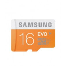 Deals, Discounts & Offers on Mobile Accessories - Samsung 16GB MicroSDHC EVO Class 10