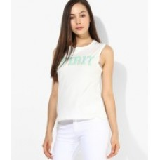 Deals, Discounts & Offers on Women Clothing - Flat 55% off on ONLY White Top