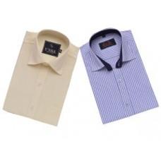 Deals, Discounts & Offers on Men Clothing - Flat 58% off on Men's Formal Shirt