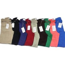 Deals, Discounts & Offers on Men Clothing - Red Camel Mens Cotton Shorts Plain Colours With Free Casual Belt