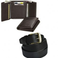 Deals, Discounts & Offers on Men - Combo of Tri Fold Leather Wallet