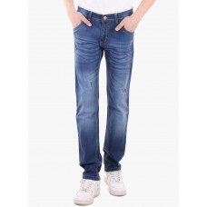 Deals, Discounts & Offers on Men Clothing - High Star Blue Mid Rise Slim Fit Jeans
