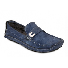 Deals, Discounts & Offers on Foot Wear - Afrojack Blue Men Loafers @ Rs.425/-