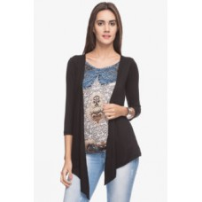 Deals, Discounts & Offers on Women Clothing - Women Casual 3/4th Sleeves Top