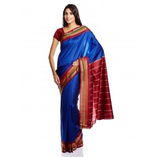 Deals, Discounts & Offers on Women Clothing - Urban Vastra Saree with Blouse Piece
