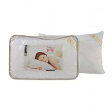 Deals, Discounts & Offers on Home Appliances - Feather Lite Whites Cotton 18 X 27 Pillow Insert 1 Pc