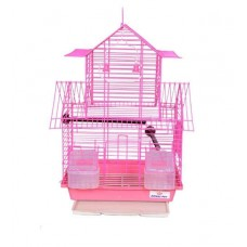 Deals, Discounts & Offers on Home Decor & Festive Needs - Petsplanet Pink Foldable Cage for Birds