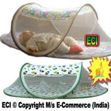 Deals, Discounts & Offers on Baby Care - Eci Baby Mosquito Net With Attached Bedsheet, Zero Insect Enclosure, Zipper