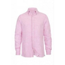 Deals, Discounts & Offers on Accessories - Linen Formal Full Sleeve Pink Shirts