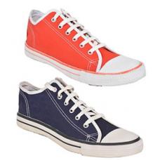 Deals, Discounts & Offers on Foot Wear - Wega Life Canvas Sneaker Combo @ Rs.615/-