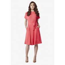 Deals, Discounts & Offers on Women Clothing - Women Half Sleeves Casual Dress