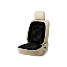 Deals, Discounts & Offers on Car & Bike Accessories - Himmlisch Car Velvet Border Wooden Bead Seats