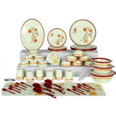 Deals, Discounts & Offers on Home & Kitchen - Flat 58.35% off on Nayasa 62 Pc Printed Dinner Set