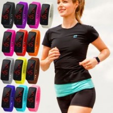 Deals, Discounts & Offers on Women - Snaptic LED Digital Silicone Sports Watch