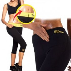 Deals, Discounts & Offers on Sports - Hot Shapers Women Capri Exercise Yoga Hot Thigh Wonder Tummy Shaper Fat Burner