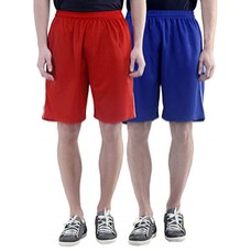 Deals, Discounts & Offers on Men Clothing - polyester combos shorts and three fourths