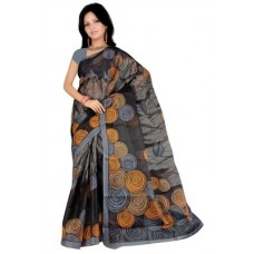 Deals, Discounts & Offers on Women Clothing - Pavechas Printed Mangalagiri Cotton Sari