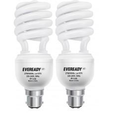 Deals, Discounts & Offers on Electronics - Eveready ELS 27-Watt CFL  - Pack of 2