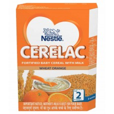 Deals, Discounts & Offers on Baby Care - Nestle Cerelac Infant Cereal Stage 2 Wheat Orange - 300g