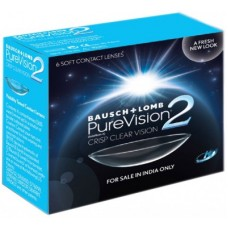 Deals, Discounts & Offers on Health & Personal Care - Bausch & Lomb PureVision2 - HD Monthly Contact Lens