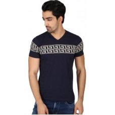 Deals, Discounts & Offers on Men Clothing - Easies Printed Men's V-neck T-Shirt