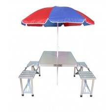 Deals, Discounts & Offers on Furniture - Flat 65% off on Picnic Table & Umbrella