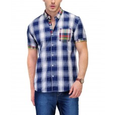 Deals, Discounts & Offers on Men Clothing - Flat 60% off on Checks Cotton Shirt