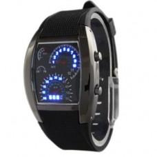 Deals, Discounts & Offers on Men - Jack klein Meter Led Black Analog Chronograph Watch