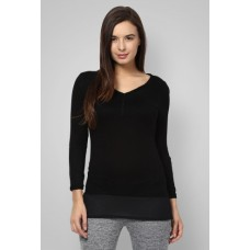 Deals, Discounts & Offers on Women Clothing - Flat 50.10% off on BOSSINI Solid Top