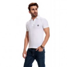 Deals, Discounts & Offers on Men Clothing - Globalite White Dry Fit Polo T-Shirt