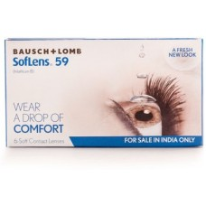 Deals, Discounts & Offers on Personal Care Appliances - Baush & Lomb Sl 59 Soft Monthly Contact Lens