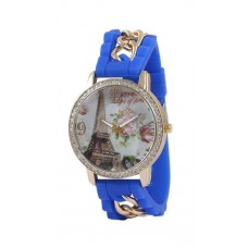 Deals, Discounts & Offers on Women - Crazeis Stylish Blue Analog Watch