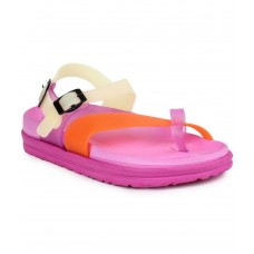 Deals, Discounts & Offers on Foot Wear - Do Bhai Pink Floater Sandal