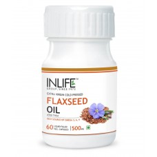 Deals, Discounts & Offers on Health & Personal Care - INLIFE FlaxSeed Extra Virgin Cold Pressed Oil