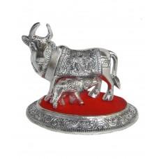 Deals, Discounts & Offers on Home Decor & Festive Needs - Rastogi Handicrafts Silver Cow