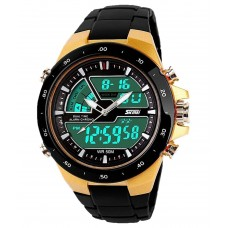 Deals, Discounts & Offers on Men - Skmei Black Strap Analog-Digital Watch
