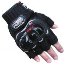 Deals, Discounts & Offers on Car & Bike Accessories - Pro Biker Half Cut Riding Gloves